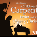 Christmas (Nativity) Neu's Gift Card