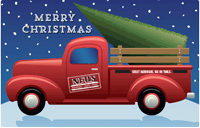 Christmas (Truck) Gift Card