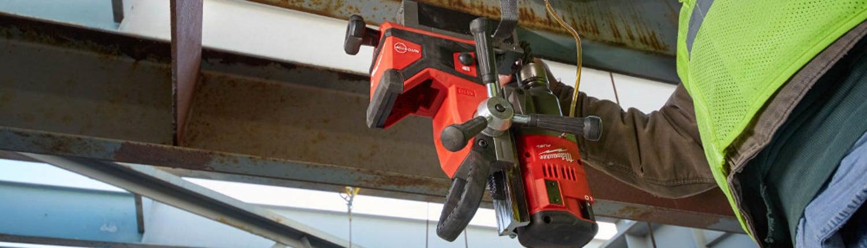 "Milwaukee Tool M18 FUEL™ 1-1/2"" Magnetic Drill Kit"