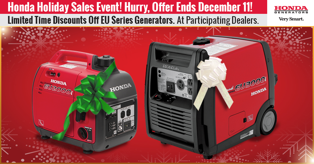 Honda Holiday Sale Event 2016