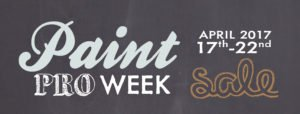 Neu's Paint Pro Week Sale