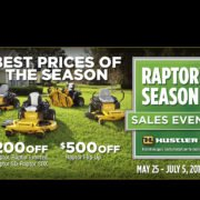 raptor season sales event