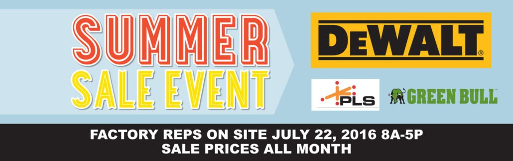 Summer Sale Event July 2016