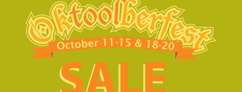 Oktoolberfest Sale 2017