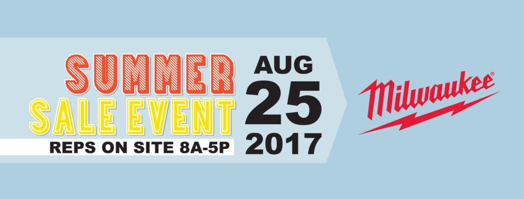 Neu's Summer Sale Event Milwaukee Tool