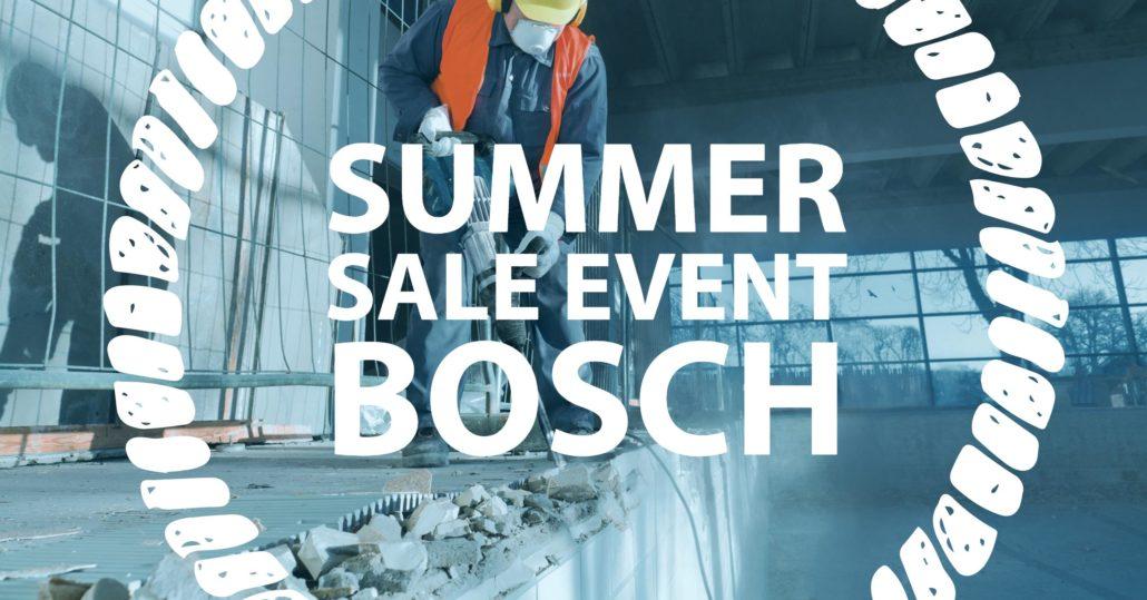 Bosch Summer Sale Event