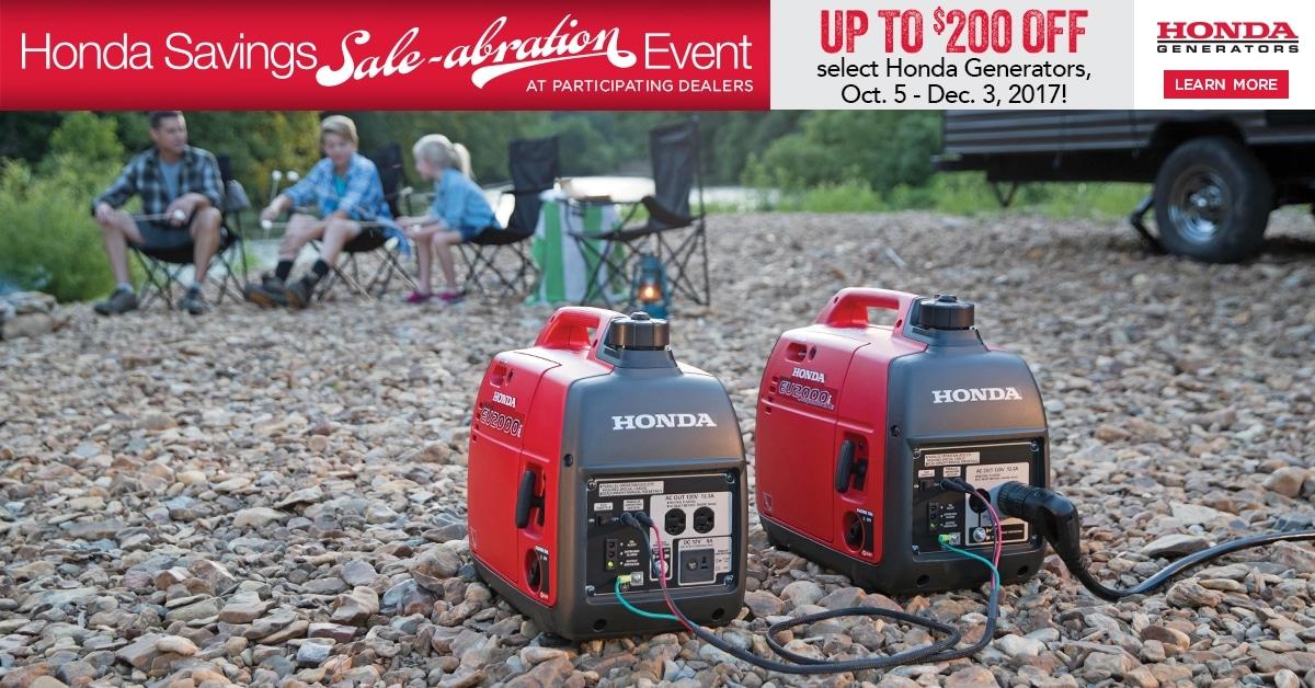 Honda Savings Sale-abration Event