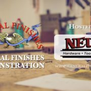 General Finishes Demonstration Neu's Woodworking Show