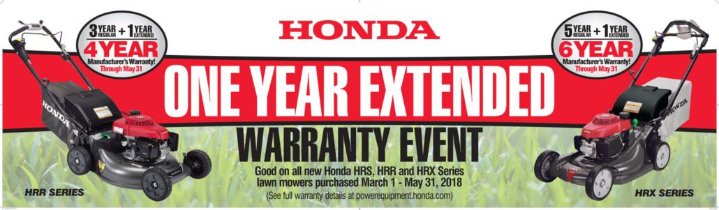 honda extended warranty event