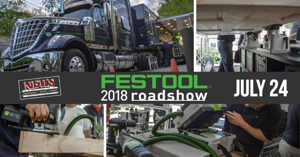 Festool Roadshow 2018