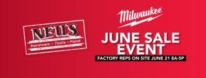 Neu's June Sale Event Milwaukee Tool