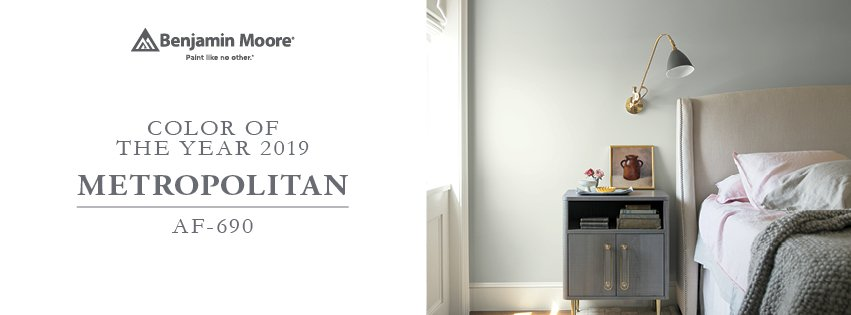 Benjamin Moore Color Trends 2019 » Neu's Hardware Tools Paint