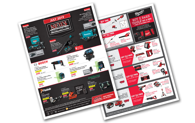 Monthly Promotions Archives » Neu's Hardware Tools Paint