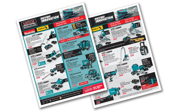 Makita August Sales Event