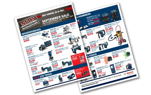 Bosch Sale Flyer