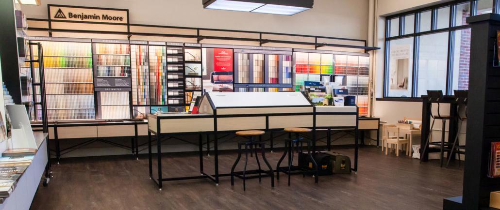 Neu's Paint & Sundries Showroom