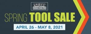 Neu's Spring Tool Sale 2021